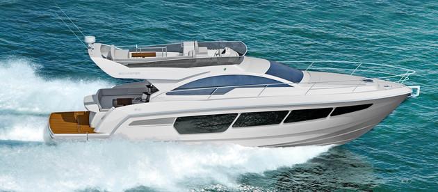 Novo barco na faixa dos 50 pés é anunciado por estaleiro brasileiro