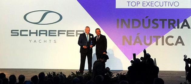 Schaefer Yachts recebe o prêmio TOP OF MIND de 2018