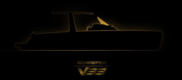 Schaefer Yachts divulga teaser de sua mais nova lancha, a V33. Confira