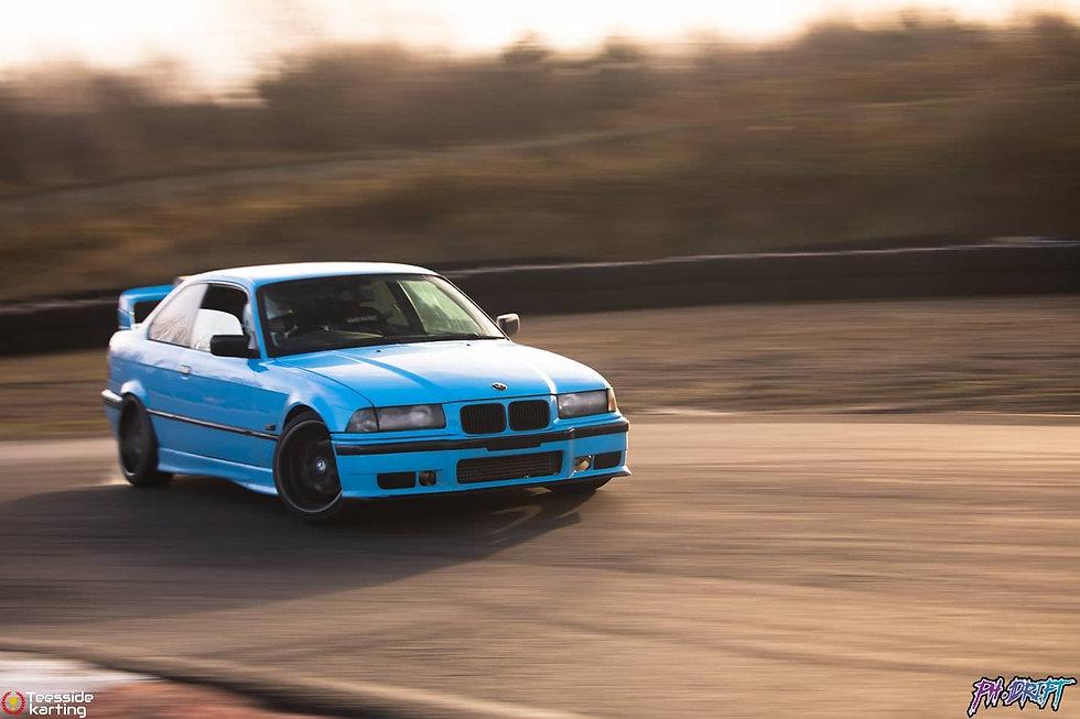 BMW E36 Drifting teesside