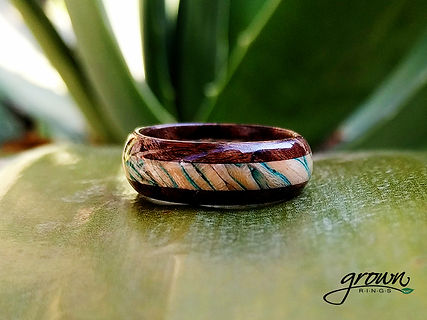 Blue Maple Oak Ring