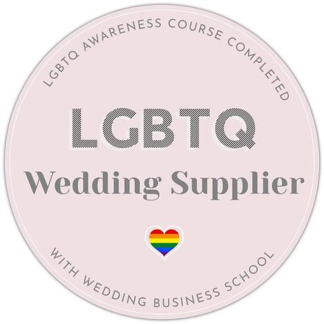 LGBTQ Wedding supplier