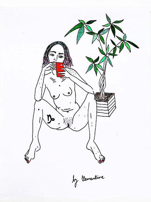 Capricorn nude