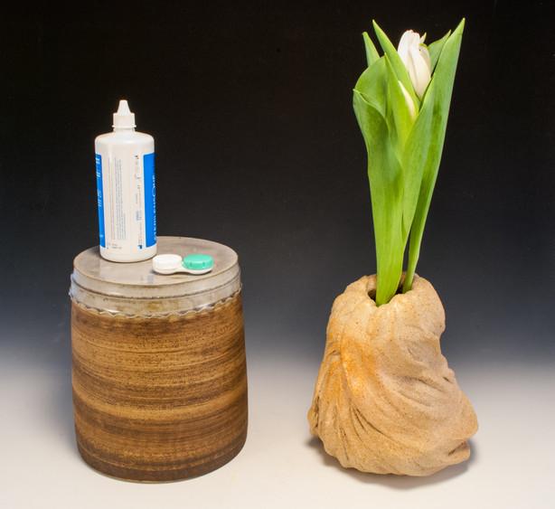 Pedestal and Vase
