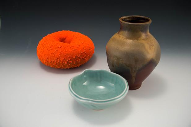 Toroid, Bowl, and Vase