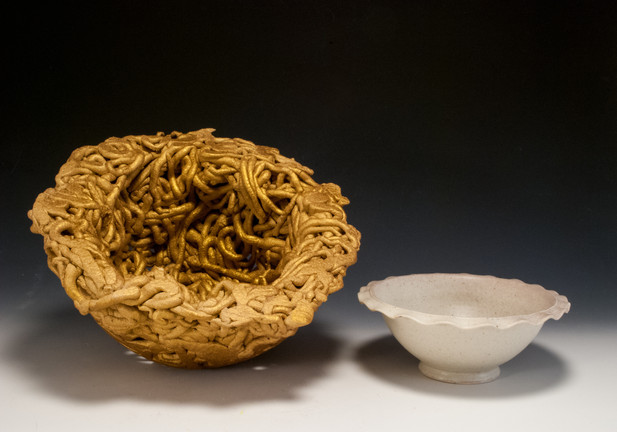 Vermicular Font and Bowl