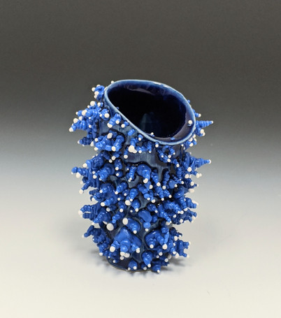 Blue & White Shot Glass (7)