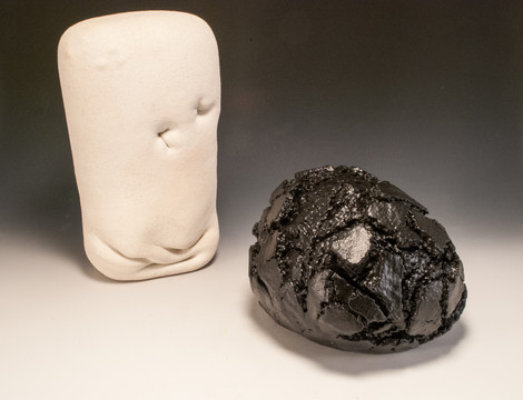 Clay Flablet and Untitled Object