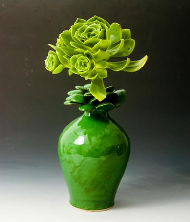Green Flower Pot