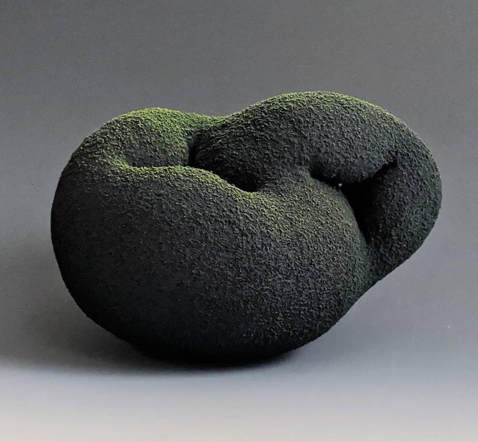 Black & Green Mug