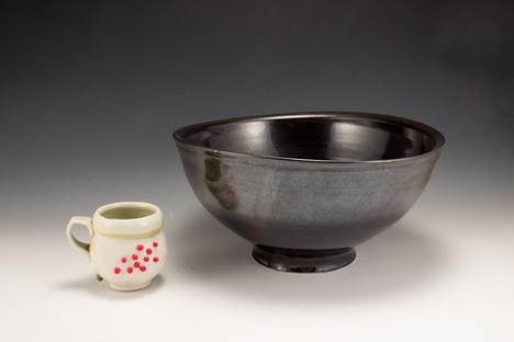 Serving Bowl & Demitasse