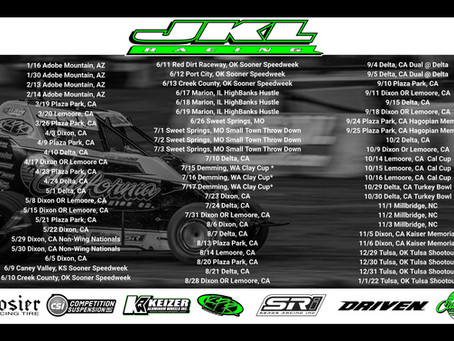 JKL Racing Unveils Aggressive 2021 Schedule; Spanning 8 States