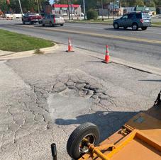 Pothole - Before