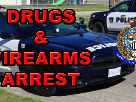 Drugs and Firearms Seized