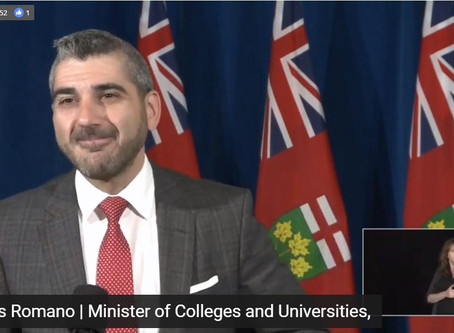 Ontario Unveils a Plan to Reopen Postsecondary Education