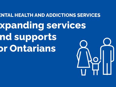Ontario Expanding Mobile Crisis Services to Respond to Mental Health Emergencies