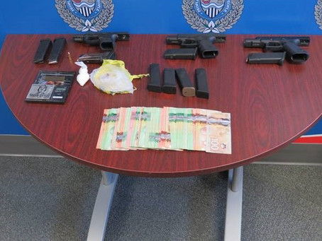 Team Effort Leads to The Seizure of Drugs and Guns