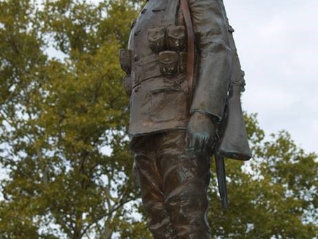 City of Sarnia Victoria Park War Memorial Vandalized