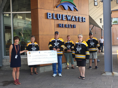 $6,315 Raised For Bluewater Health Foundation In Inaugural Online 50/50