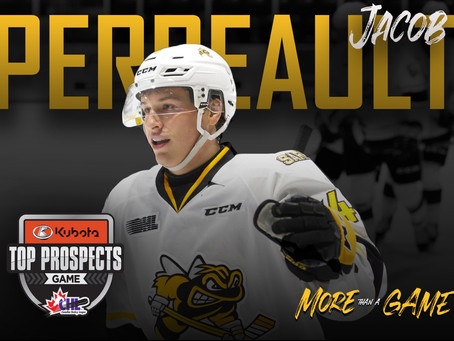 Sting Forward Jacob Perreault Named To 2020 Kubota Chl/ Nhl Top Prospects Game