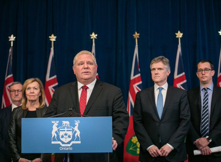 Ontario Limits the Size of Unmonitored and Private Social Gatherings across Entire Province