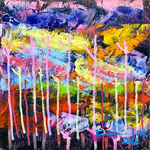 color changing chromatic art Untamed-6 I by Eleazar Delgado