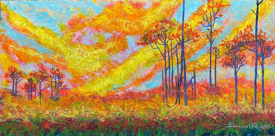 Sunset by Eleazar Delgado Studio Fine Art
