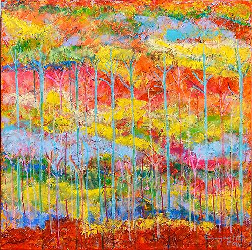 color changing chromatic art Untaimed-16 II by Eleazar Delgado