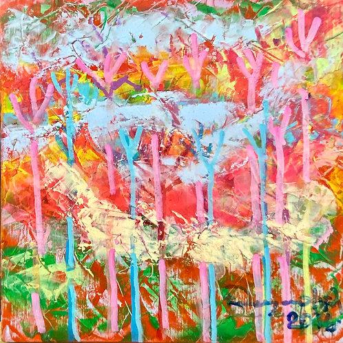 color changing chromatic art Untamed-6 IV by Eleazar Delgado