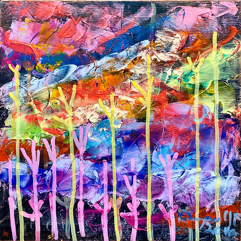 color changing chromatic art Untamed-6 II by Eleazar Delgado