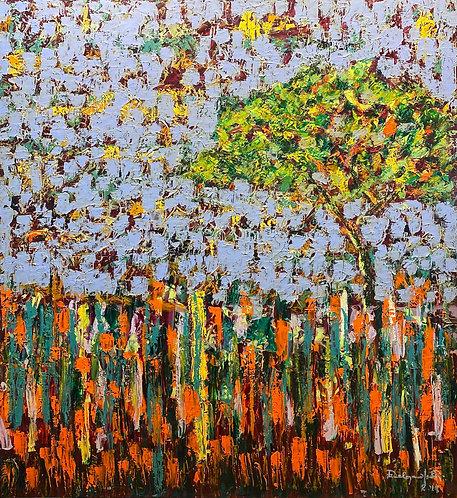 Everglades III oil painting by Eleazar Delgado Studio Fine Art