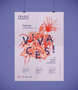 Festival Vivaces l affiche