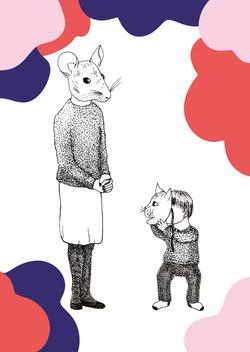 Motherhood sometimes l Illustration