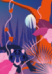 illustration_jungle_vegetale_Plan de tra