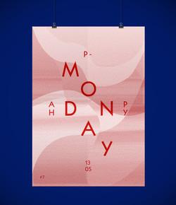 Happy Monday l affiches