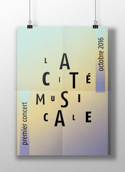 La cité musicale l Affiche