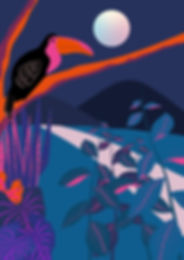 illustration_jungle_vegetale2_Plan de tr