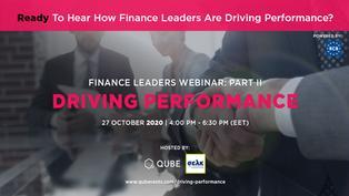 FINANCE LEADERS PART II - DRIVING PERFORMANCE