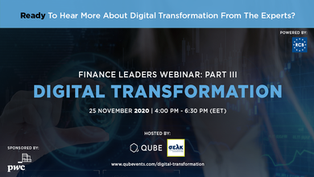 FINANCE LEADERS PART III - DIGITAL TRANSFORMATION