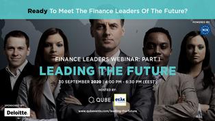 FINANCE LEADERS PART I - LEADING THE FUTURE