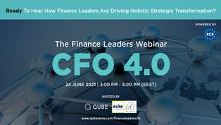 THE FINANCE LEADERS WEBINAR CFO 4.0