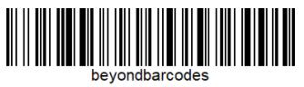 beyondbarcodes as a barcode