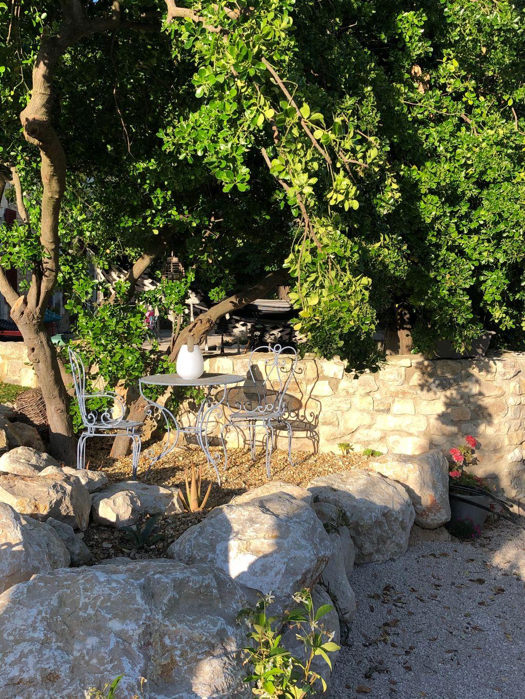 Espace terrasse suite Nature