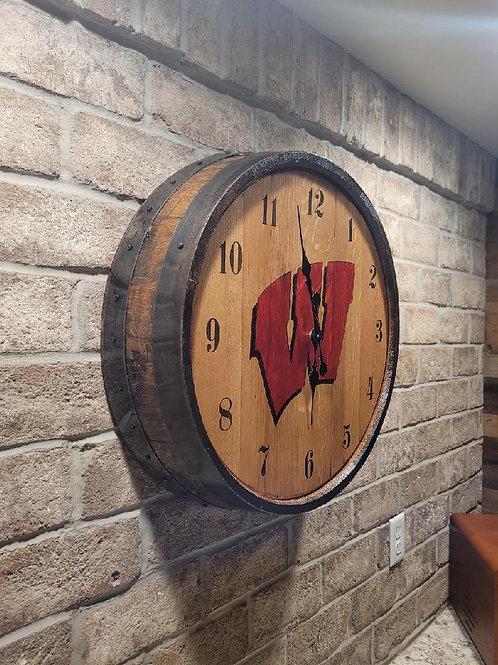 Wisconsin / Bucky Clock