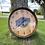 Thumbnail: Custom Barrel Clock