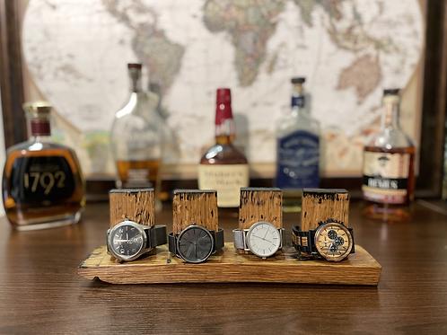 Watch Holder | Barrel Stave Watch Display
