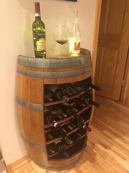Barrel With Shelves