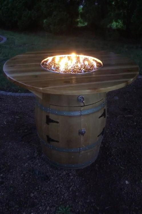 Barrel Fire Table