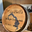 "Thumbnail: Custom ""Lake"" Wine Barrel Top"