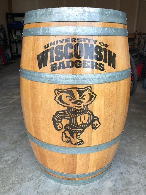 Bucky Wine Barrel